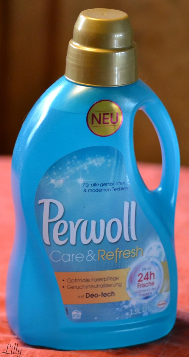 Bekannt Frische Wäsche mit #Perwoll #Care&Refresh ? *Werbung* – Lillys Blog YN77